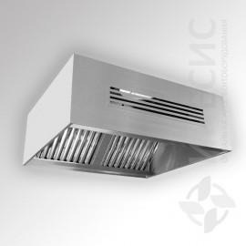 ЗПВО-3 зонт кухонный приточно-вытяжной пристенный
